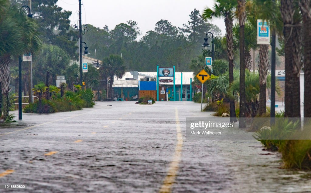 Hurricane Michael Slams Into Florida's Panhandle Region : News Photo