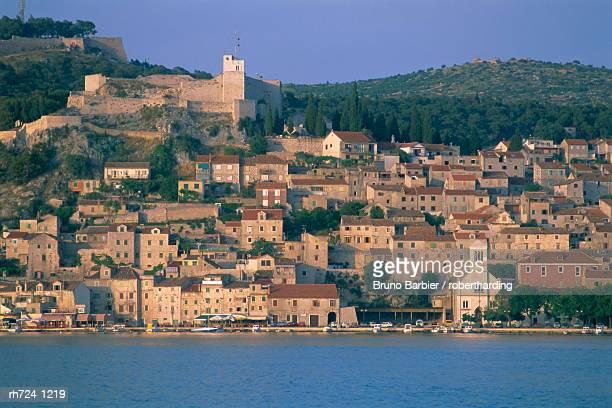 The town of Sibenik, Dalmatia, Dalmatian coast, Croatia, Europe