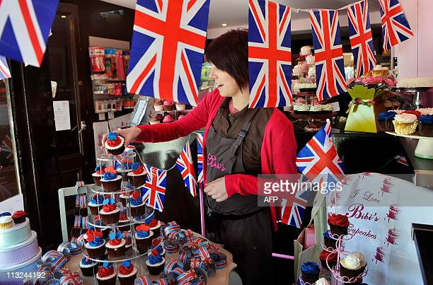 The town of St Andrews in Scotland prepares April 28 for the wedding of Britain's Prince William and Kate Middleton at London's Westminster Abbey on...