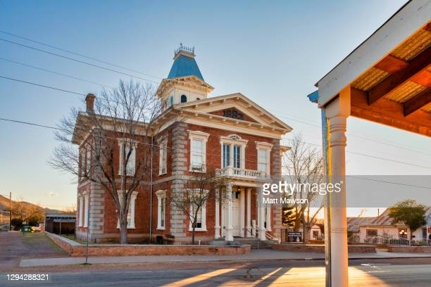 the town of tombstone in souther arizona - tombstone arizona stock pictures, royalty-free photos & images