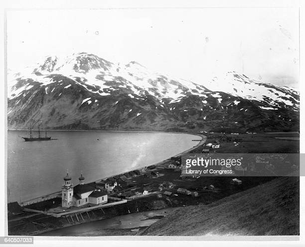 The town of Unalaska on Unalaska Island in the last years of the 19th Century The town was founded in 1700s as the first headquarters of the...