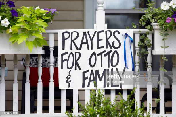 The town of Wyoming Ohio prepares for the funeral of Otto Warmbier June 21 2017 in Wyoming Ohio The 22yearold college student was released from a...