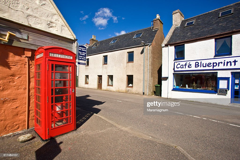 The town on the loch gairloch telephone box stock photo getty images the town on the loch gairloch telephone box stock photo malvernweather Choice Image