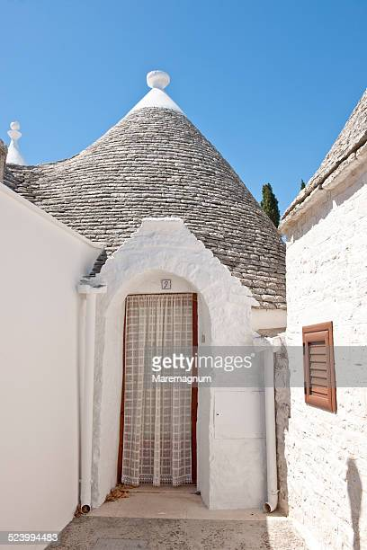 The town with typical constructions called Trulli