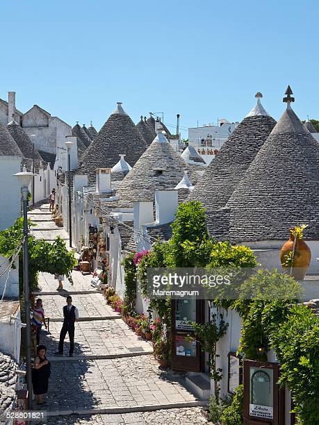 The town with typical Trulli