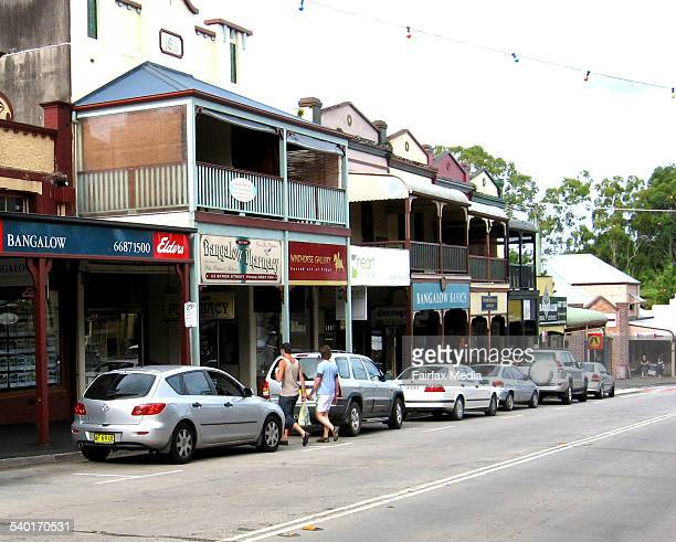 The township of Bangalow on the New south Wales Far North Coast 9 January 2007 AFR Picture by MICHAEL O'SULLIVAN