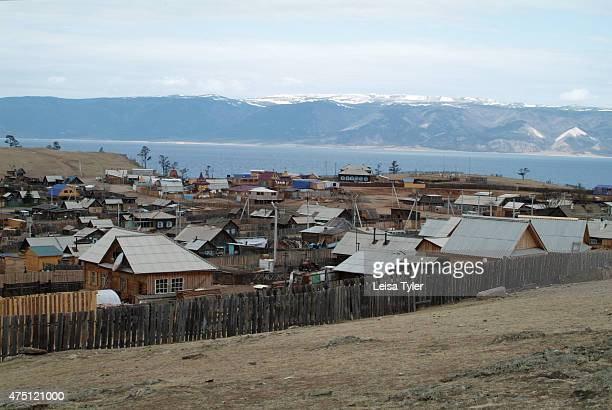 The township of Khuzir on Olkhon island the largest island in Lake Baikal Known as the soul of Siberia Lake Baikal was formed after a unique...