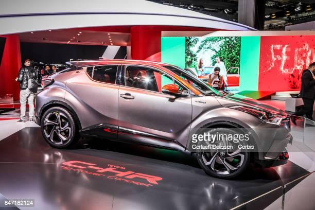 The Toyota CHR HyPower Concept on display at the 2017 Frankfurt Auto Show 'Internationale Automobil Ausstellung' on September 13 2017 in Frankfurt am...