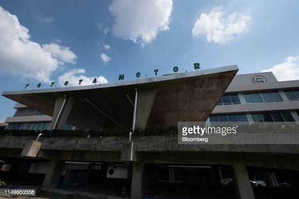 The Toyota Motor Corp. Headquarters stands in Toyota City, Aichi Prefecture, Japan, on Wednesday, June 12, 2019. Toyota brought forward an...