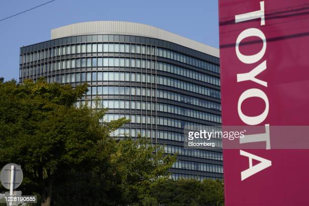 The Toyota Motor Corp. Headquarters stands in Toyota City, Aichi Prefecture, Japan, on Monday, Aug. 24, 2020. The latest new coronavirus cases in...