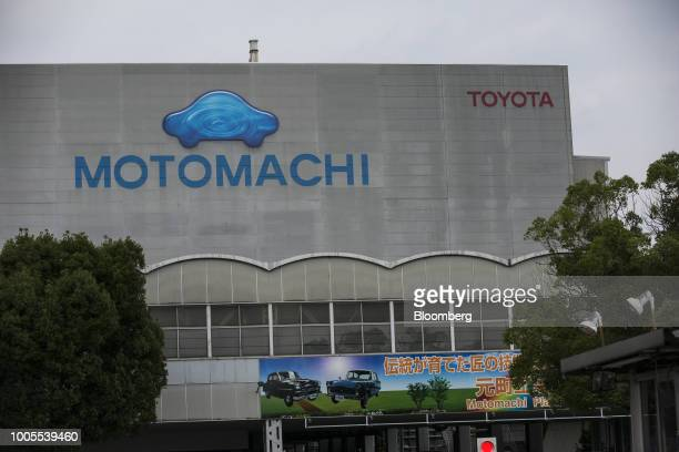 The Toyota Motor Corp Motomachi plant stands in Toyota city Aichi Japan on Thursday July 26 2018 Toyota may stop importing some models into the US if...