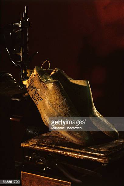 The tradition of the renowned Italian family of shoe makers is continued by Olga Berluti from the tradition that began in 1895