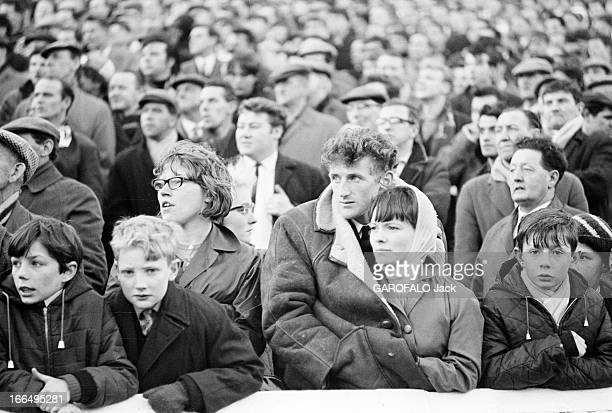 The Tragedy Of Ibrox Park During The 21St Day Of Scotland Soccer Championship Ecosse Glasgow 28 avril 1966 A Ibrox Park lors de la 21e journée du...