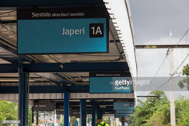 The train station of Ricardo de Albuquerque belongs to the Japeri extension which has connections with the city centre Rio de Janeiro Brazil 29...
