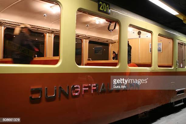 The train we took to Jungfraujoch in Switzerland on 9/16/07