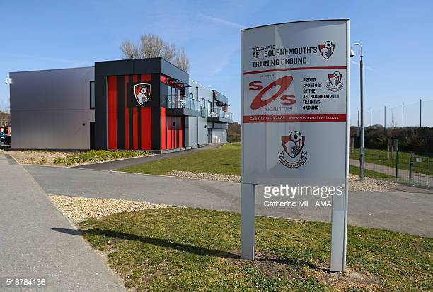 The training ground and centre at AFC Bournemouth before the Barclays Premier League match between AFC Bournemouth and Manchester City at Vitality...