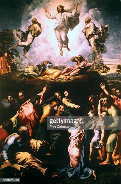 'The Transfiguration' c15191520 Transfiguration is described by Luke took Peter and John and James and went up into the mountain to pray