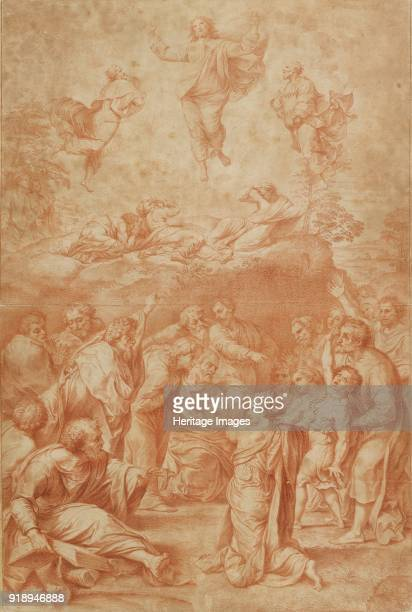 The Transfiguration late 17thearly 18th century Dimensions height x width sheet 75 x 504 cm