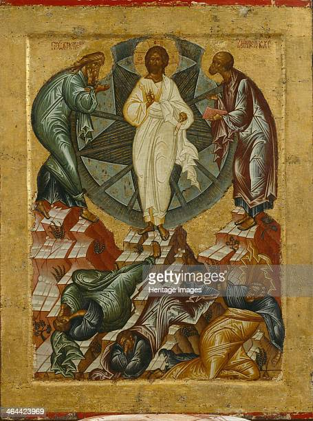 The Transfiguration of Jesus 1497 Found in the collection of the State Openair Museum KirilloBelozersky Monastery