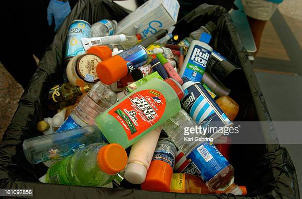 DENVER CO The Transportation Security Administration screeners confiscated soft drinks perfume suncreen moisturizer baby food just about anything in...
