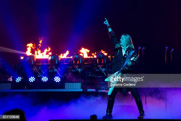 The TransSiberian Orchestra performs their 2014 Winter Tour at the Frank Erwin Center on December 18 2014 in Austin Texas