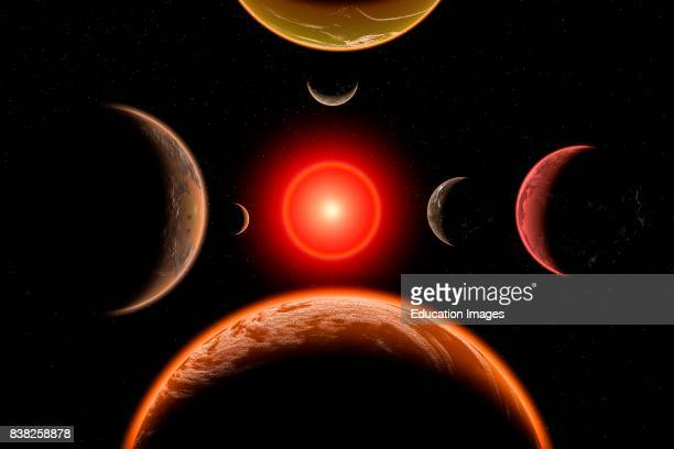 The Trappist Red Dwarf Star System