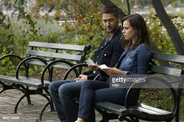 THE BLACKLIST 'The Travel Agency' Episode 506 Pictured Ryan Eggold as Tom Keen Ana Nogueira as Lena Mercer