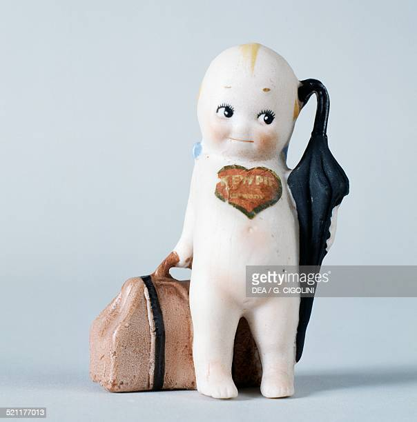 The traveller Kewpie doll celluloid doll made by Kewpie United States of America 20th century United States
