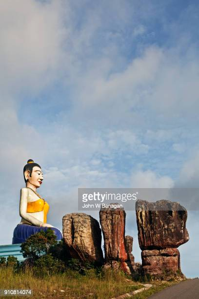 The Travellers spiritual protector ,Lok Yeay Mao, Bokor mountain,Kampot