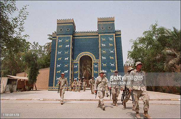 The treasures of Baghdad miraculously reappear in Iraq in July 2003 Babylon American servicemen and women on leave depart from the city of Babyon by...