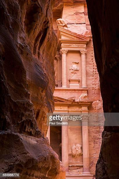 The Treasury at Petra Ruins, Jordan