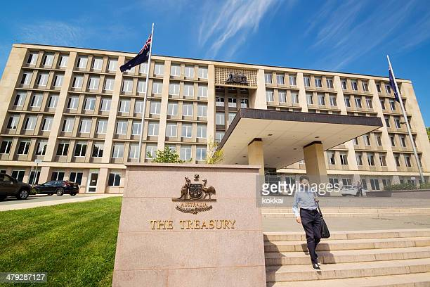 the treasury, australia - economy stock pictures, royalty-free photos & images