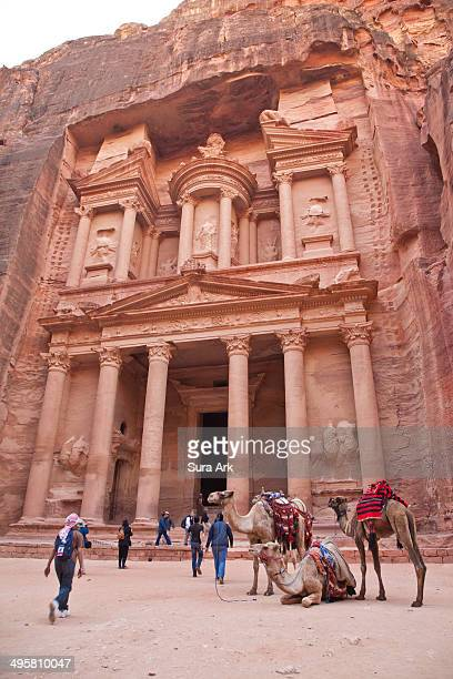 CONTENT] The Treasury Petra Jordan Petra was built by the Nabateans over 2000 years ago The Treasury was carved out of the solid rock from the side...