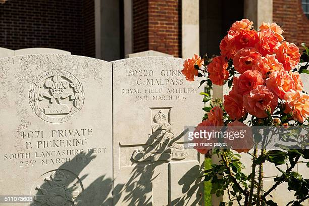 The treport´s 441 graves of the Commonwealth war graves represent the french gratefulness This is a free gift of the french people for the perpetual...