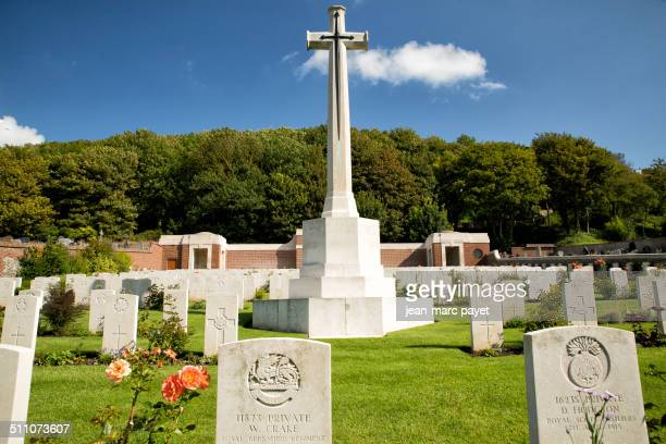 The Treport´s 441 graves of the Commonwealth war graves represent the french gratefulness. This is a free gift of the french people for the perpetual...