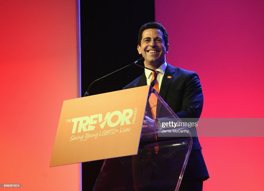 The Trevor Project CEO Amit Paley speaks onstage during The Trevor Project TrevorLIVE NYC 2017 at Marriott Marquis Times Square on June 19, 2017 in New York City.