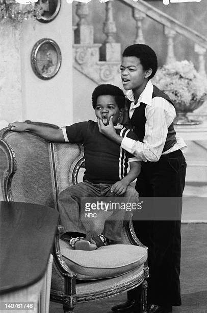 RENT STROKES The Trial Episode 7 Pictured Gary Coleman as Arnold Jackson Todd Bridges as Willis Jackson Photo by NBC/NBCU Photo Bank