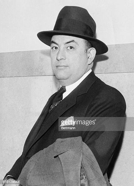 The trial of Frank Nitti reputed Chicago gangster charged with the shooting of a detective was disrupted when the victim Sergeant Harry Lang...