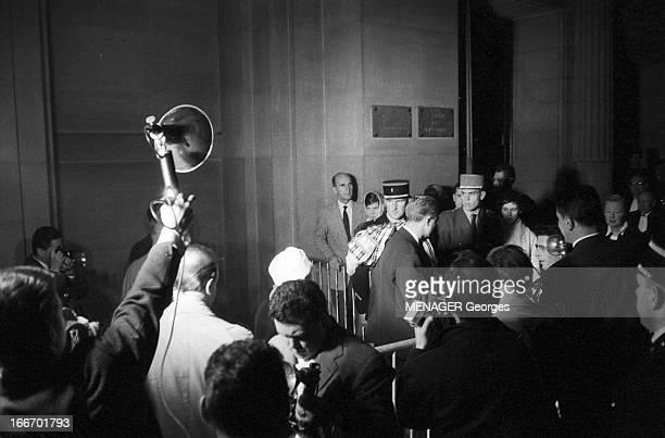 The Trial Of The Barricades Paris 17 novembre 1960 Pour la durée du procès par un tribunal militaire Pierre LAGAILLARDE et JeanMaurice DEMARQUET...