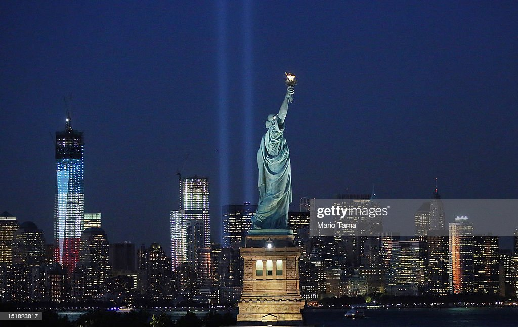 New York City Marks 11th Anniversary Of September 11th Attacks : News Photo
