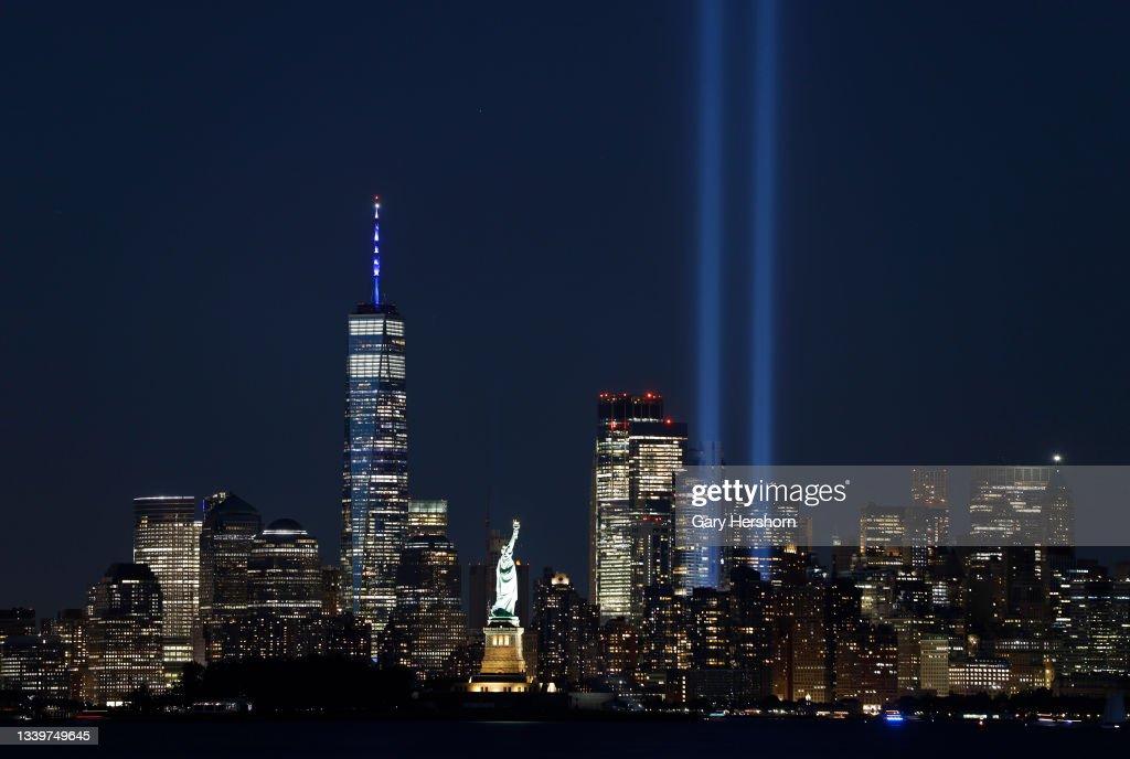 Tribute in Light in New York City : ニュース写真