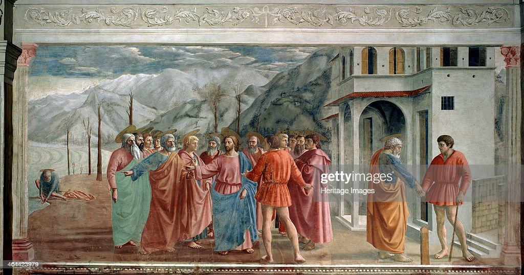 masaccios the tribute money The renaissance is a widely recognized period in art history, and many artists from this time used stories and themes from the new testament as inspiration for their work.