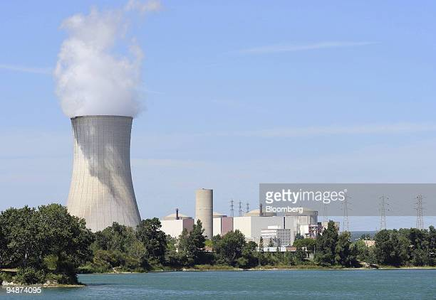 The Tricastin nuclear power station operated by EDF stands near the Arevaowned Socatri waste treatment center near Bollene France on Friday July 18...