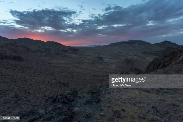 The Trilobite Wilderness region is seen shortly before sunrise in Mojave Trails National Monument on August 28 2017 near Essex California The 16...