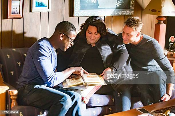 US The Trip Episode 109 Pictured Sterling K Brown as Randall Chrissy Metz as Kate Justin Hartley as Kevin