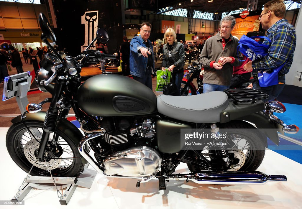 The Triumph Bonneville T100 Steve Mcqueen Special Edition Motorcycle News Photo Getty Images