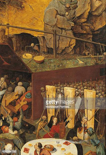 The Triumph of Death by Pieter Bruegel the Elder 16th Century oil on wood 117 x 162 cm