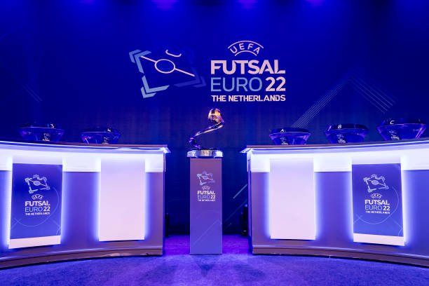 NLD: UEFA Futsal EURO 2022 Final Draw