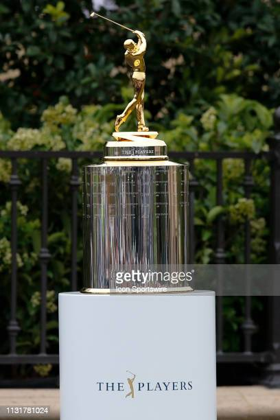 The trophy awarded to the winner of THE PLAYERS Championship on March 17, 2019 on the Stadium Course at TPC Sawgrass in Ponte Vedra Beach, Fl.