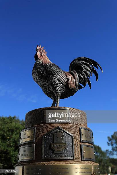 The trophy during the Final Round of the Sanderson Farms Championship at the Country Club of Jackson on October 30 2016 in Jackson Mississippi